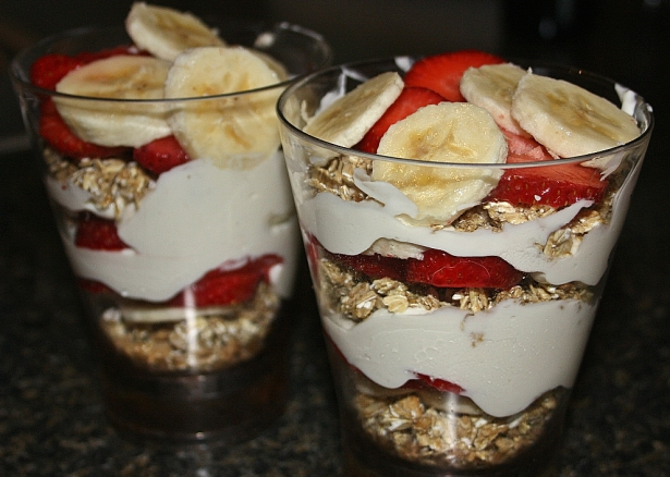 Greek Gods' Parfaits