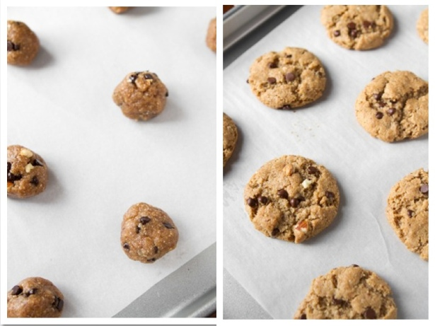 Gluten-Free Chocolate Chip Peanut Butter Cookies