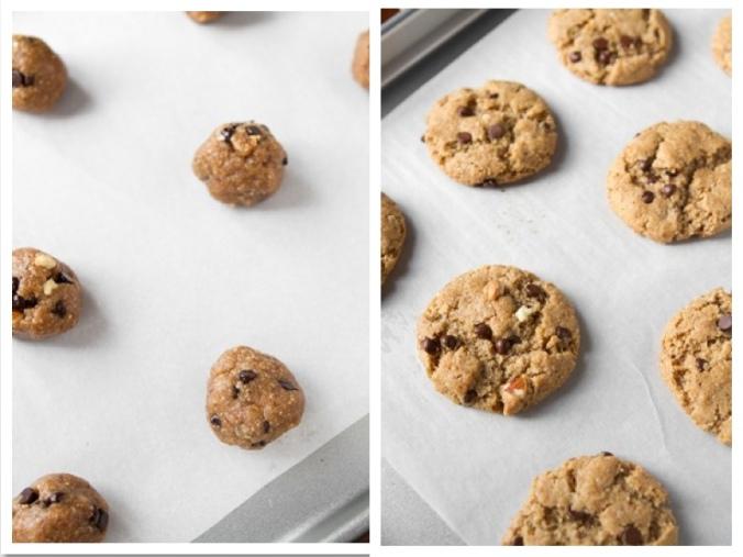 Gluten-Free Chocolate Chip Peanut Butter Cookies
