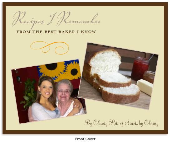 Recipes I Remember cookbook cover