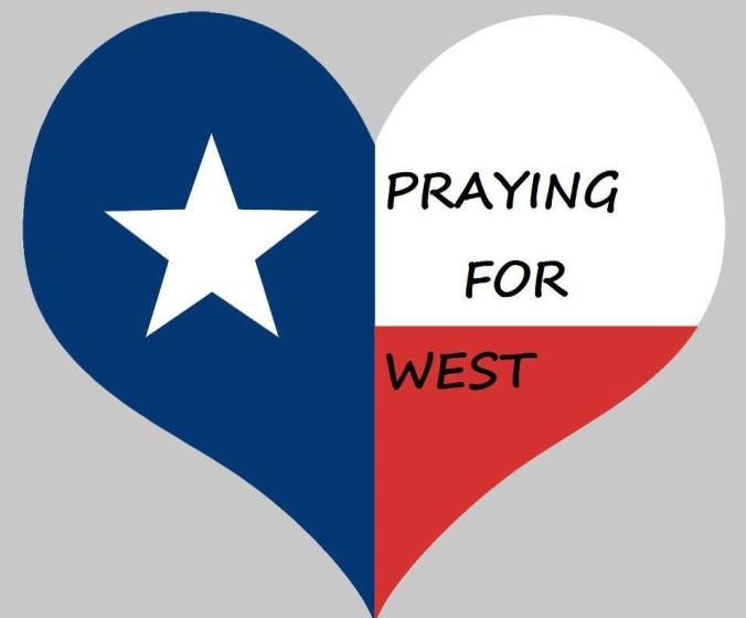 praying for west
